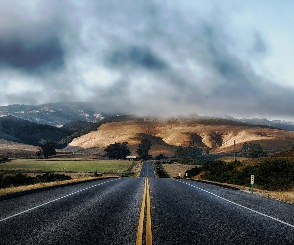california, road, highway